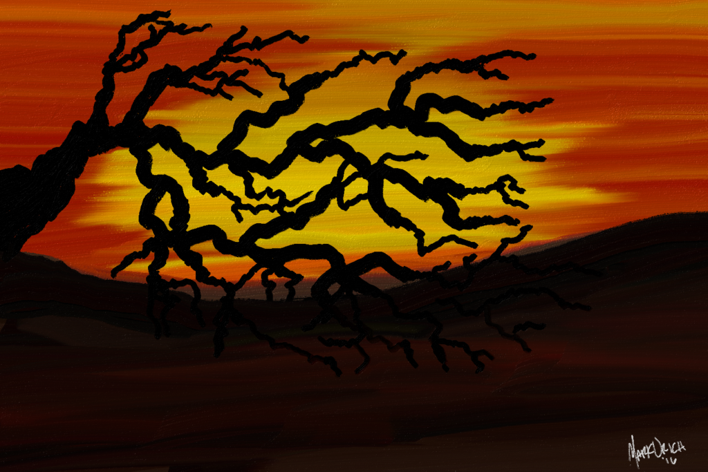 orange-sunset-with-tree